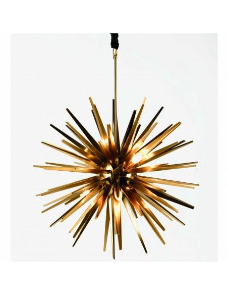 Lampara metal dorado envejecido Foto: lampara-metal-dorados-envejecido-MD3448S-6-MD3448-6 (2)