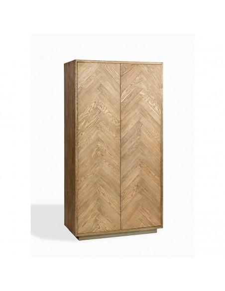 ARMARIO ROBLE NATURAL (100x50x190) Foto: fd23481-armario-de-madera