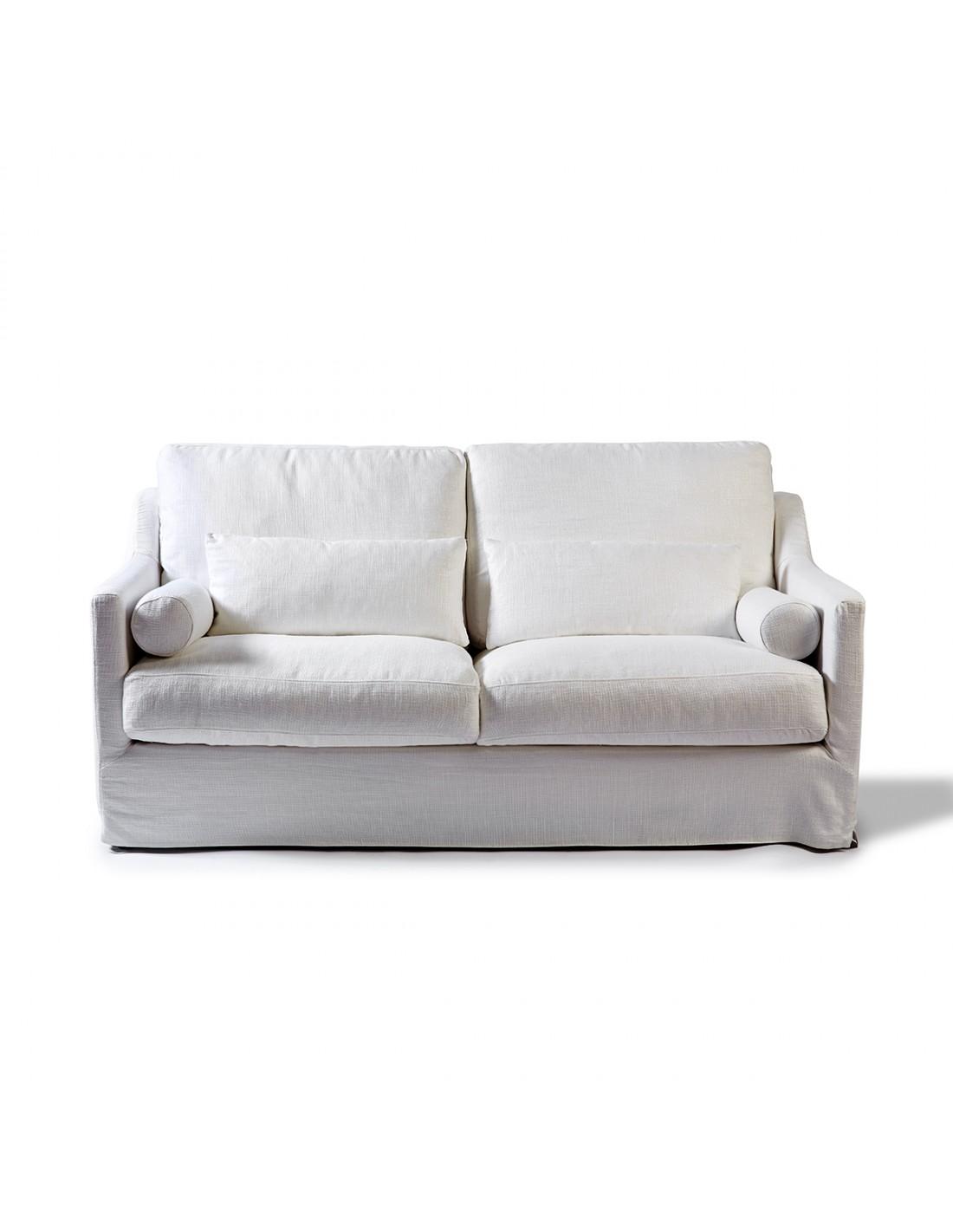 Sofa de dos plazas blanco roto - Sofas de dos plazas ...