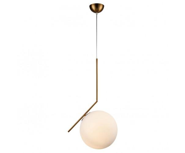 Lámpara de techo metal dorado y cristal Foto: FELI-1