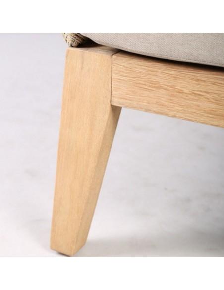 Sofá XXL madera y cuerda beige Foto: PALARMO XXL B (1)